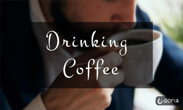 Drinking-Coffee