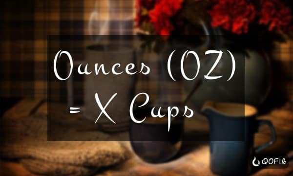 How Many Ounces (oz) in X Cups