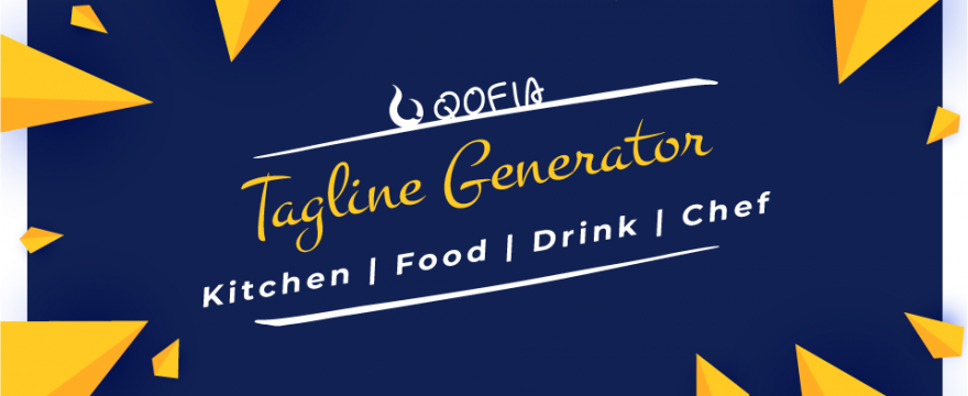 Lovely Slogan & Tagline Generator: Kitchen ▪ Food ▪ Drink ▪ Chef